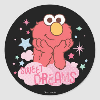 Adesivo Redondo Sesame Street | Elmo - sonhos doces