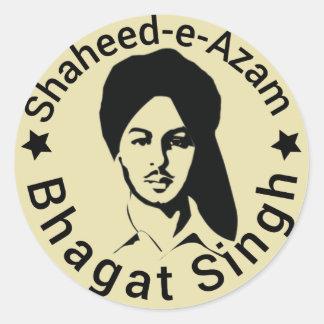 Adesivo Redondo shaheed - e-azam Bhagat Singh