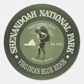 Adesivo Redondo Shenandoah NP