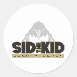 Adesivo Redondo Sid o miúdo