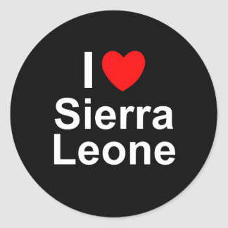 Adesivo Redondo Sierra Leone