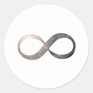 Adesivo Redondo Símbolo da infinidade
