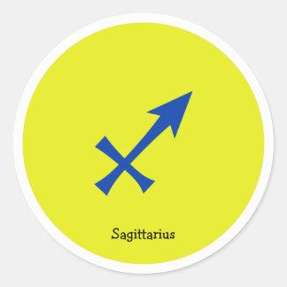 Adesivo Redondo Símbolo do Sagitário