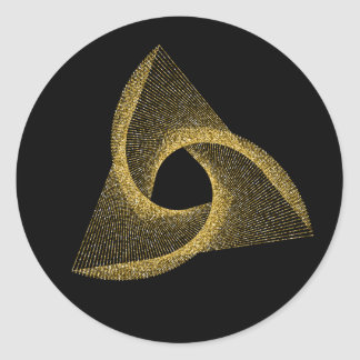 Adesivo Redondo Símbolo sagrado da geometria