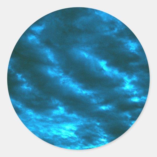 Adesivo Redondo Sky