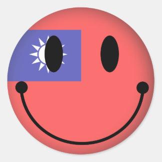 Adesivo Redondo Smiley de Formosa
