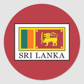 Adesivo Redondo Sri Lanka
