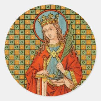 Adesivo Redondo St. Barbara (JP 01)