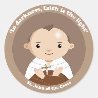 Adesivo Redondo St John da cruz