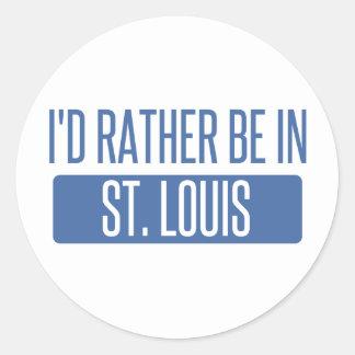 Adesivo Redondo St Louis