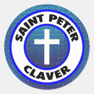 Adesivo Redondo St Peter Claver