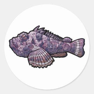 Adesivo Redondo Stonefish