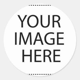 Adesivo Redondo Sua imagem aqui