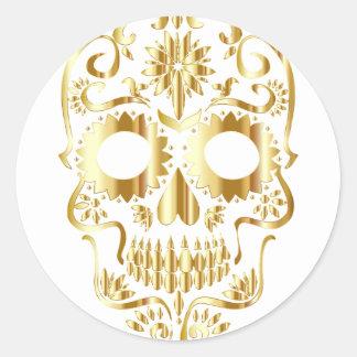 Adesivo Redondo sugar-skull-1782019