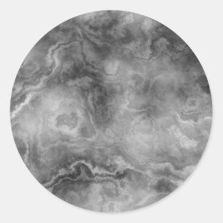 Adesivo Redondo Superfície de mármore