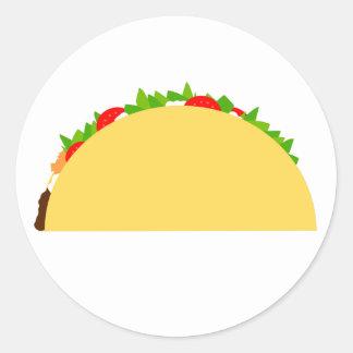Adesivo Redondo Taco