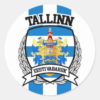 Adesivo Redondo Tallinn