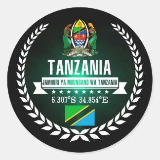 Adesivo Redondo Tanzânia