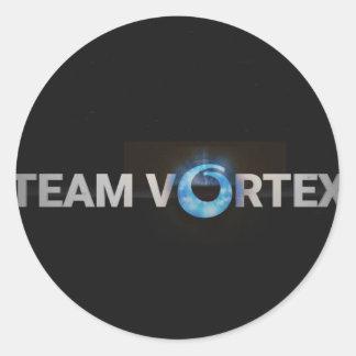 Adesivo Redondo TeamVortex