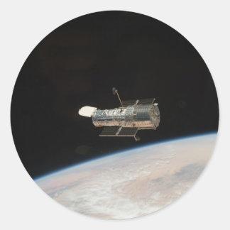 Adesivo Redondo Telescópio espacial da NASA Hubble
