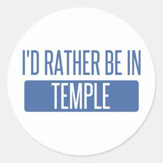 Adesivo Redondo Templo