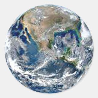 Adesivo Redondo Terra