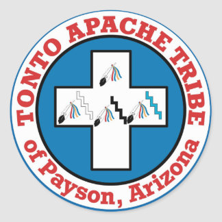 Adesivo Redondo Tonto Apache