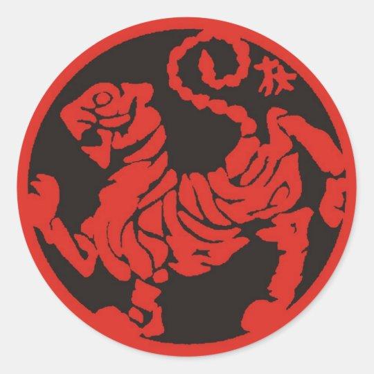 Adesivo Redondo Toro_red