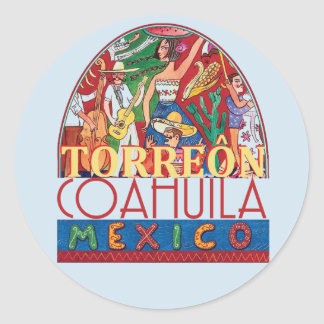 Adesivo Redondo TORREON México