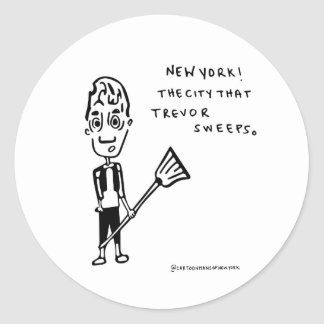 Adesivo Redondo Trevor