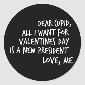Adesivo Redondo Tudo que eu quero para o dia dos namorados é um