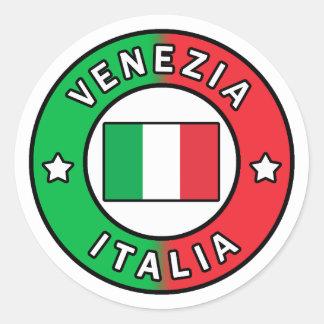 Adesivo Redondo Venezia Italia