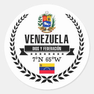 Adesivo Redondo Venezuela