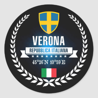 Adesivo Redondo Verona