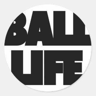 Adesivo Redondo Vida da bola
