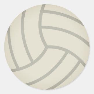 Adesivo Redondo Voleibol Emoji