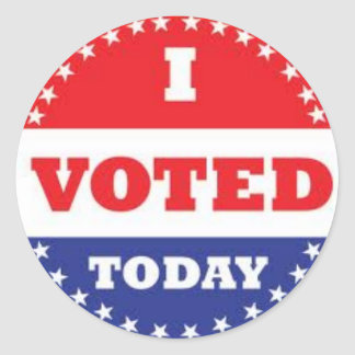 Adesivo Redondo voto