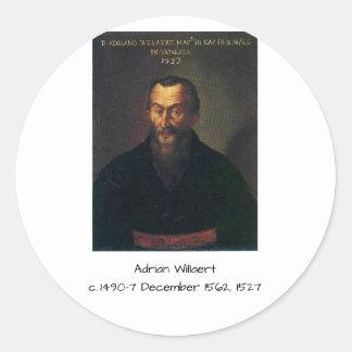 Adesivo Redondo Willaert de Adrian