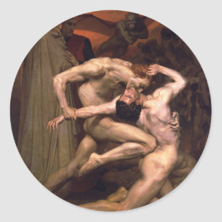 Adesivo Redondo William-Adolphe_Bouguereau_ (1825-1905) _-_Dan