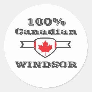 Adesivo Redondo Windsor 100%