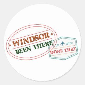 Adesivo Redondo Windsor feito lá isso