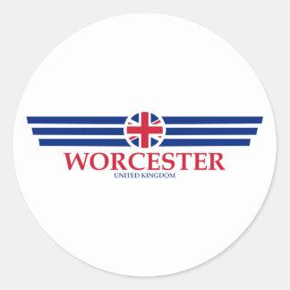 Adesivo Redondo Worcester