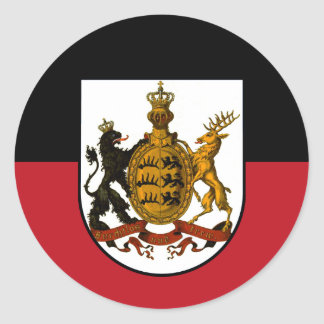 Adesivo Redondo Württemberg
