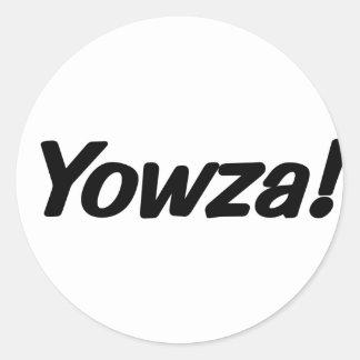 Adesivo Redondo yowza