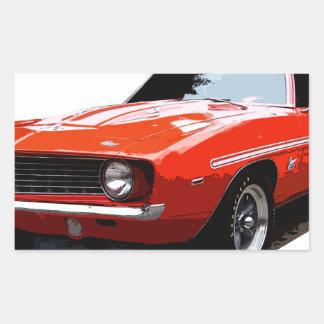 Adesivo Retangular 1969_camaro_yenko_orange