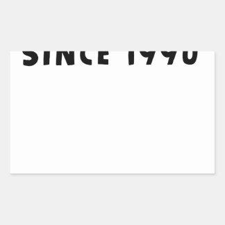 ADESIVO RETANGULAR 1990