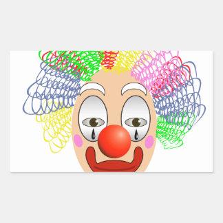 Adesivo Retangular 97Clown Head_rasterized