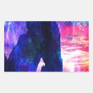 Adesivo Retangular A angra do sonhador de Amorem Amisi do anúncio