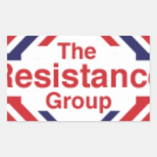Adesivo Retangular A resistência