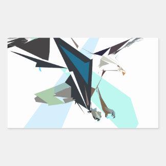 Adesivo Retangular águia